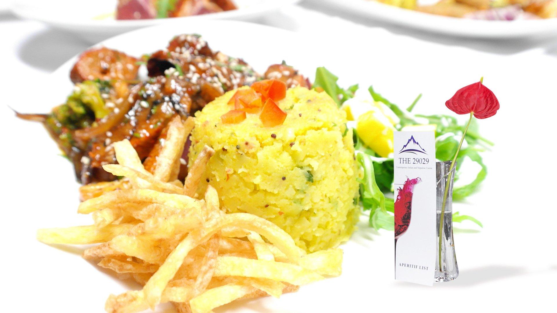 Food Banner - 29029 Restaurant - Best Traditional Indian Restaurant Broadstone